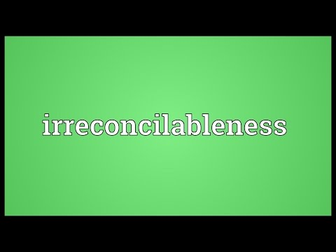 Header of irreconcilableness
