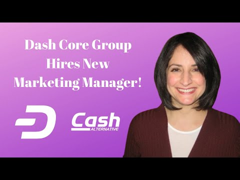 Dash Core Group Hires New Marketing Manager!