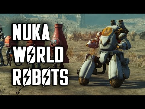 Nuka World Robots - How to Build Them & Where to Find Their Parts - Fallout 4 Nuka World
