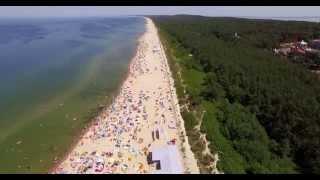 Plaża Biała Krynica Morska 2015