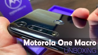 Motorola One Macro Unboxing (Macro Camera Motorola Phone)
