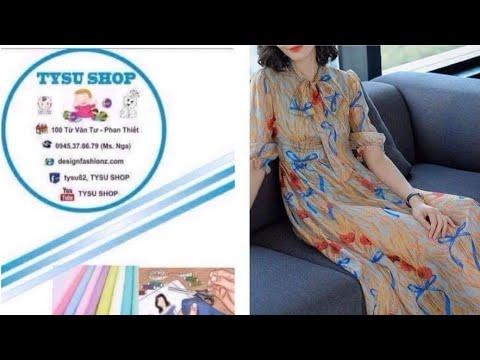 513_thiết Kế Áo Đầm dạy cắt may online miễn phí   sewing online class free   tysushop