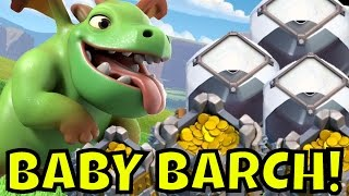 BABY DRAGON FARMING [Th9 Dark Elixir Farming Strategy] Clash Of Clans