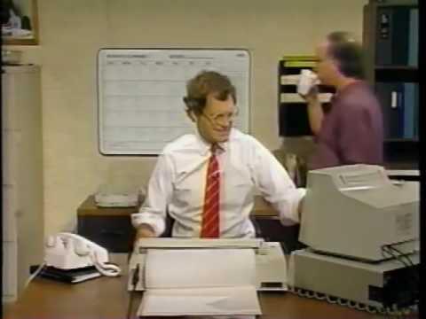 Donald Trump on David Letterman show - 1988