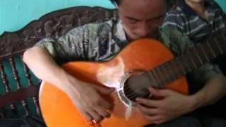 Tiếng chày trên sóc bombo guitar ngẫu hứng