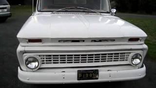 1964 White Chevrolet C-10 Truck Walkaround