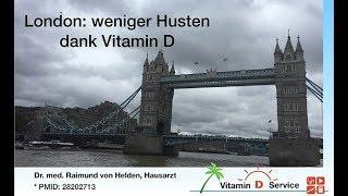 Weniger Husten dank Vitamin D - das British Medical Journal berichtet