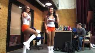 Hooters Girls Self Entertained