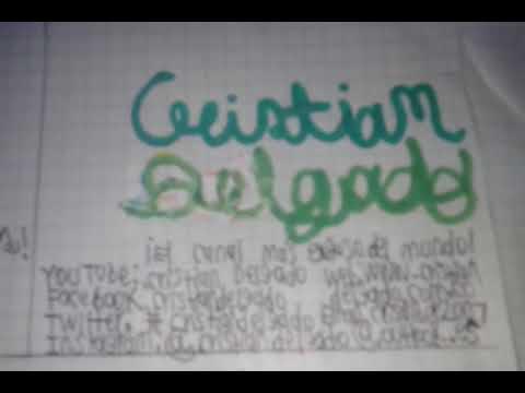 ID'S De Cristian Delgado 2019-2020