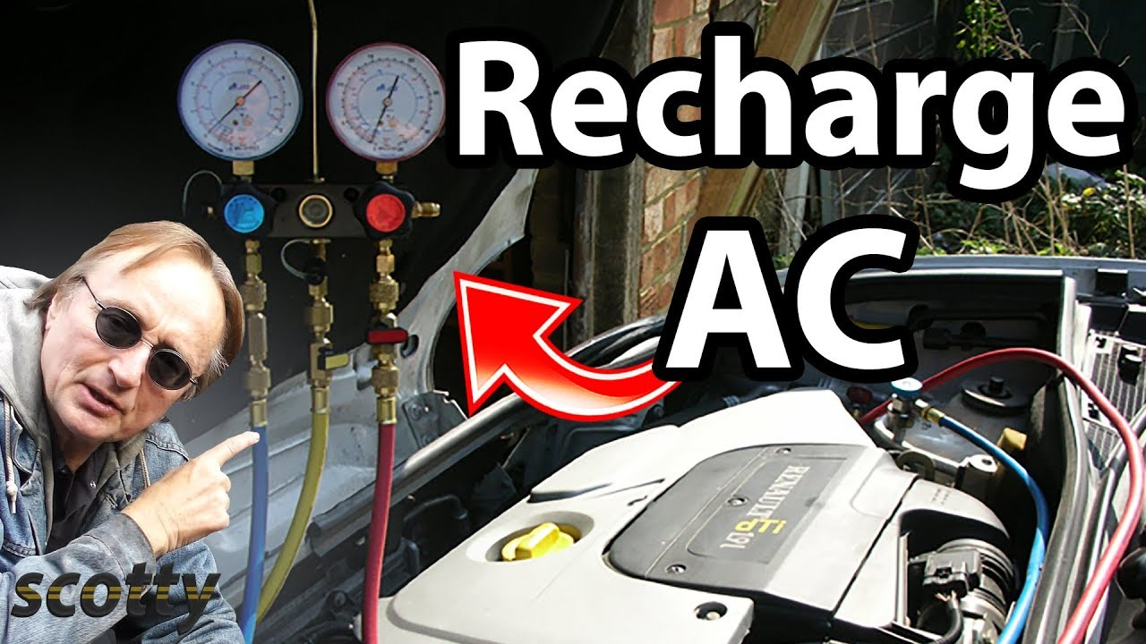 How To Recharge Car Ac System