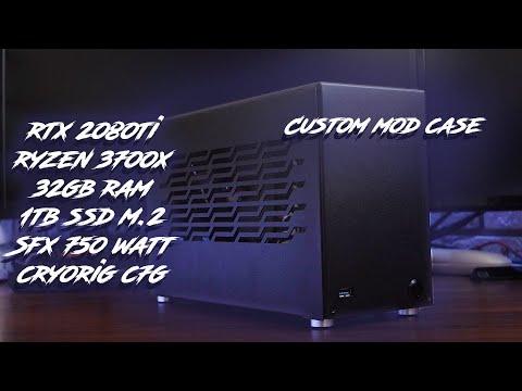 RTX 2080ti + Ryzen 3700x + 32gb Ram + Cryorig C7g + Custom Mod Case Sx Stl 7.1L упакован по самое..?
