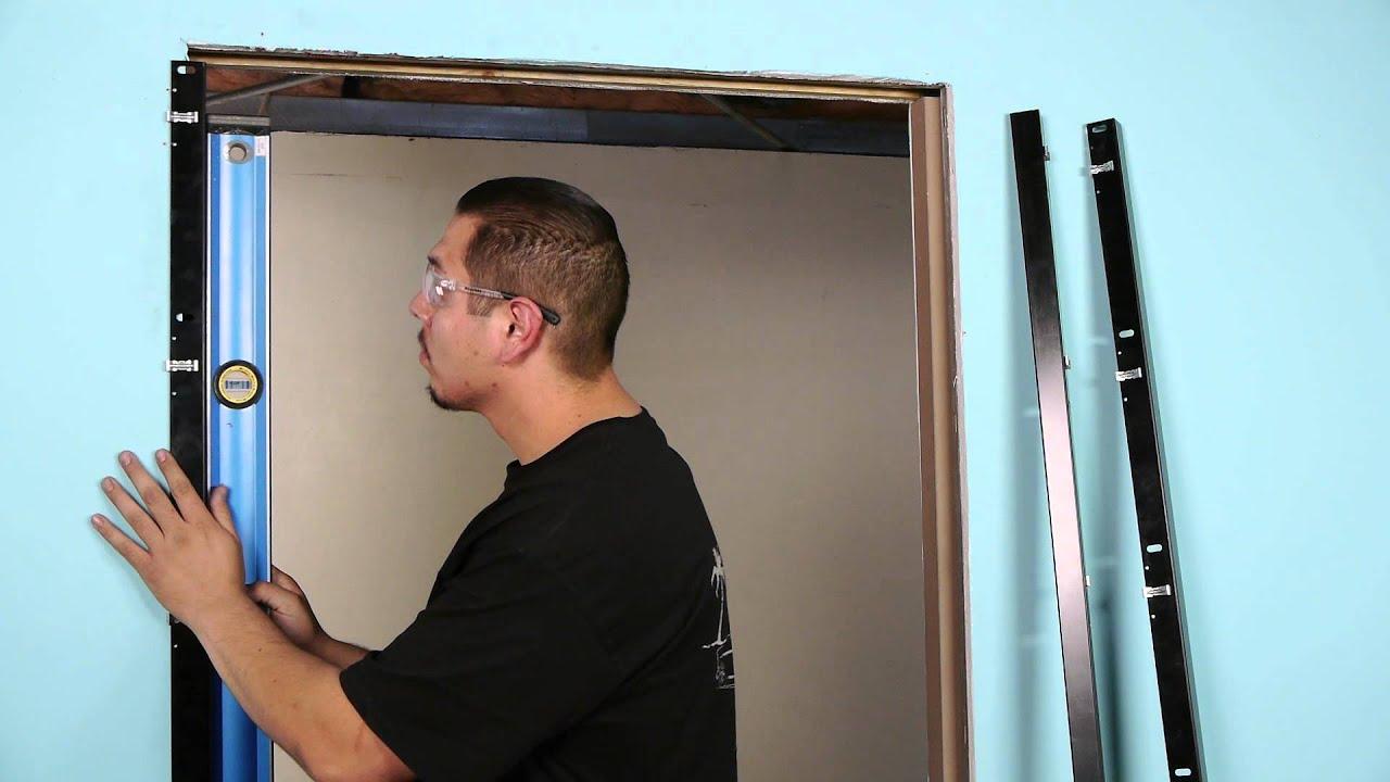 Pocket Door Trim Installation pocket trim kit installation - youtube