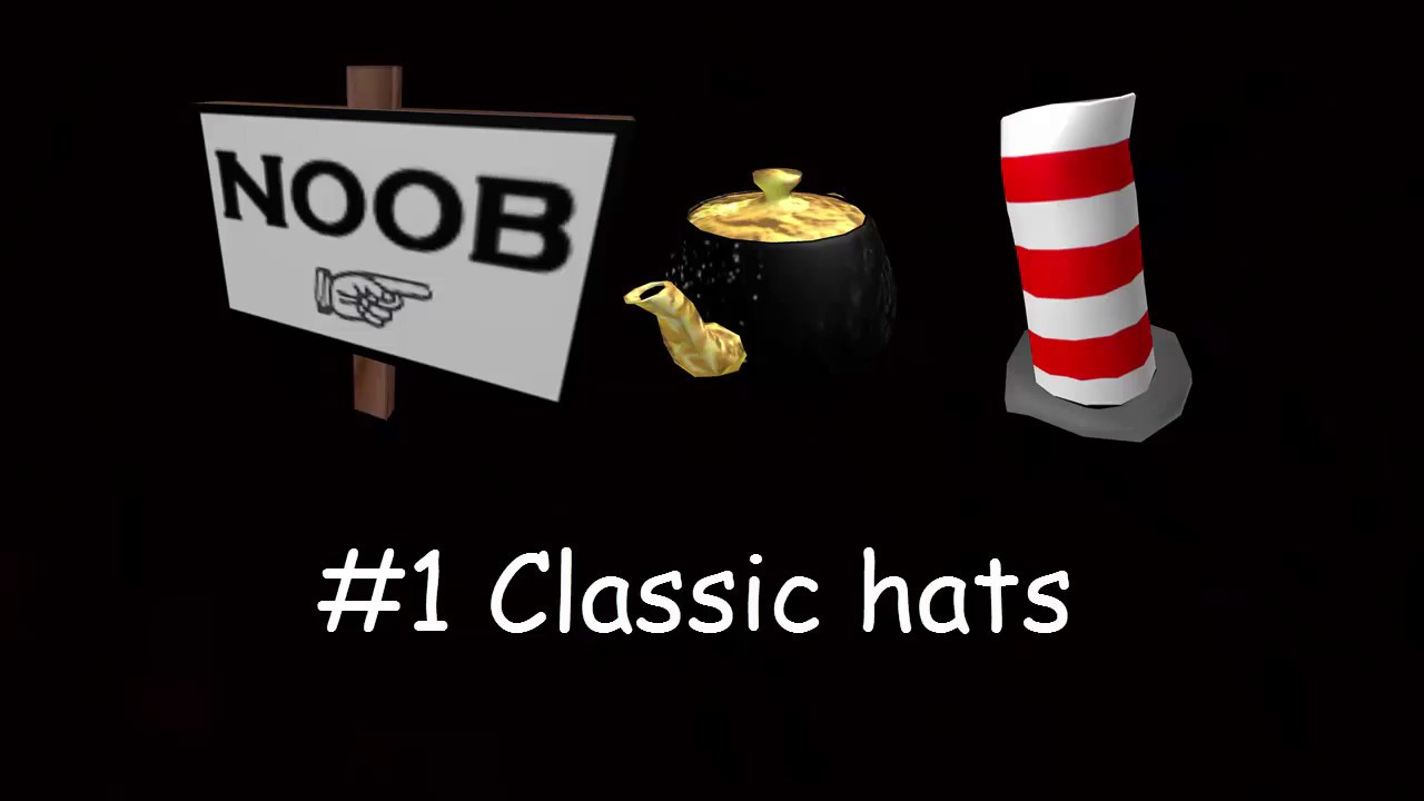 Roblox Hat Stereotypes 1 Classic Hats By Ricosheij