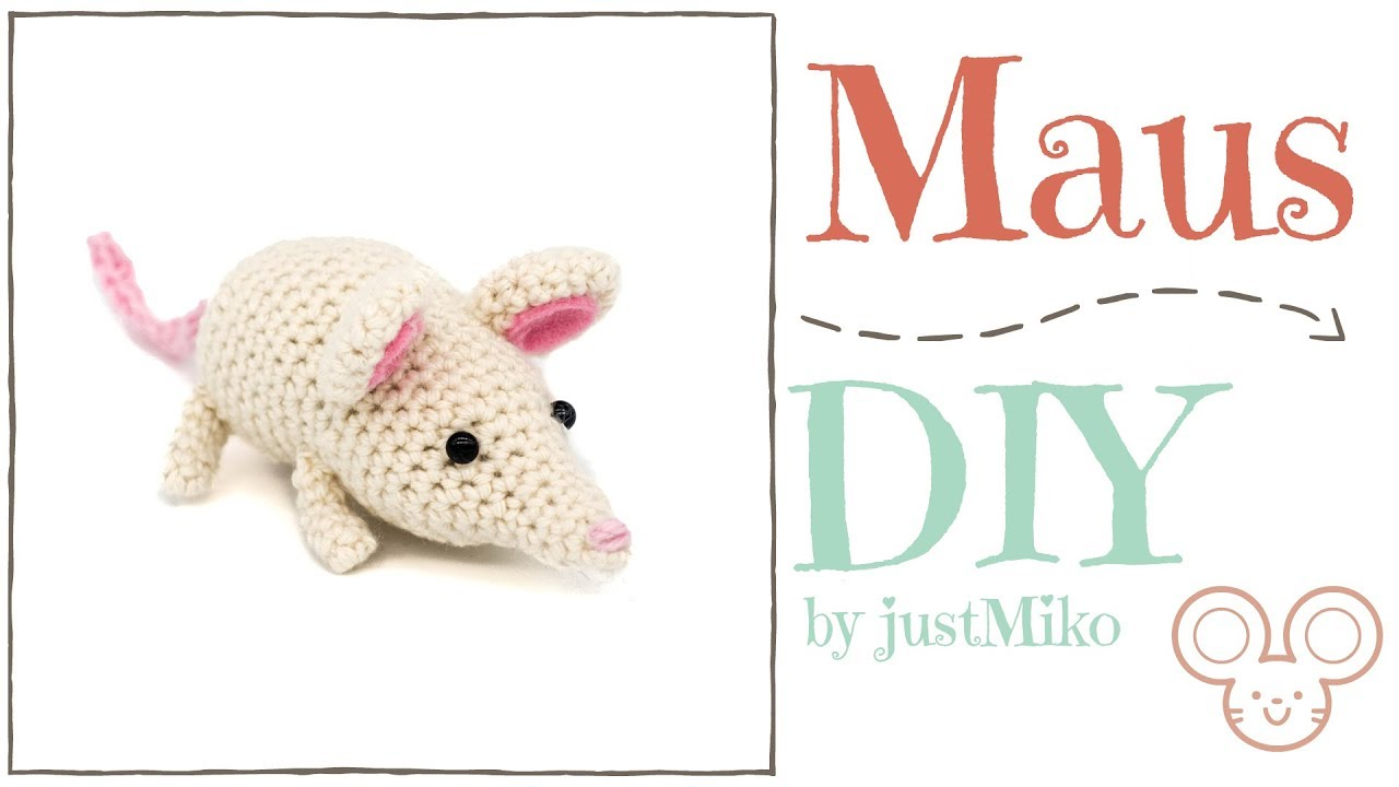 Maus Häkeln Do It Yourself Amigurumi Herbst Youtube