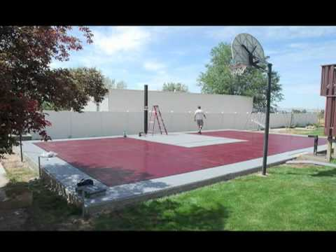 SnapSports Outdoor Basketball Court Installation _ Time Lapse – Multi Sport Game Courts_(720p).mp4