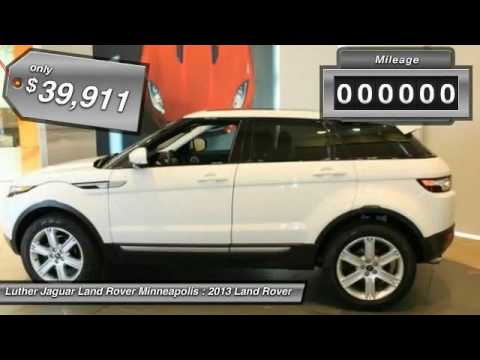 2013 Land Rover Range Rover Evoque Minneapolis, Golden Valley, St ...