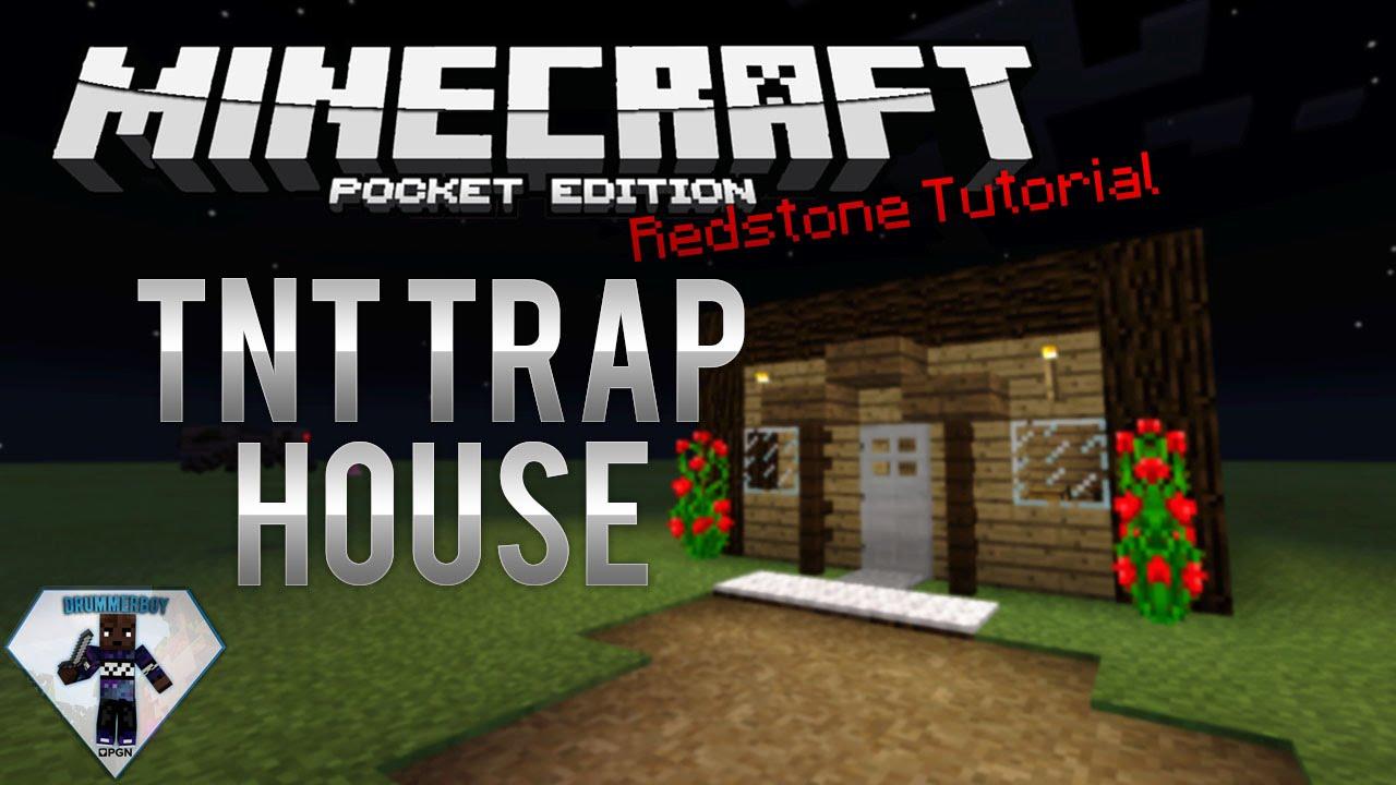 0 13 0   Tnt Trap House - Redstone Tutorial