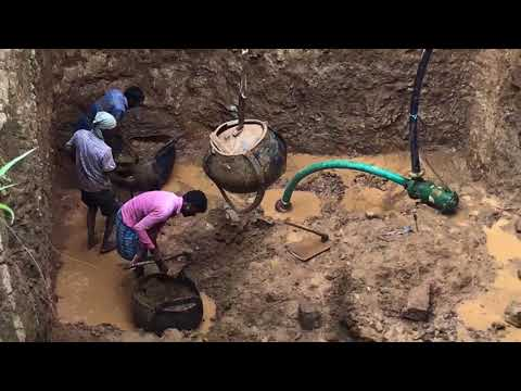 HAND DIGGING A WELL IN INDIA | TAMIL NADU