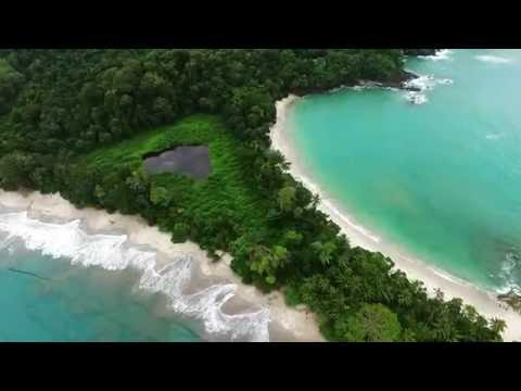 COSTA RICA FROM THE AIR IN HD