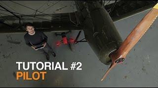 Parrot Bebop Drone - Tutorial #2 - Piloting
