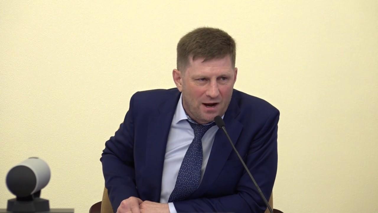 Сергей Фургал устроил разнос чиновникам, которые пожалели деньги на питание школьников