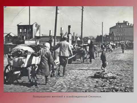 Изображение предпросмотра прочтения – АннаАршакян читает отрывок изпроизведения «Ты помнишь,Алёша, дороги Смоленщины...» К.М.Симонова
