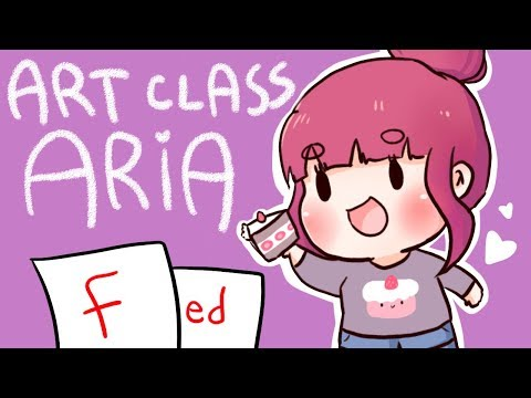 Lily's ART CLASS 4 - ARIASAKI || F for Fed :D