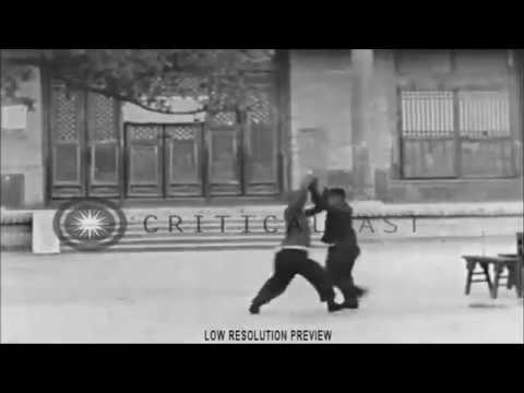 Rare footage of traditional Chinese Martial Arts