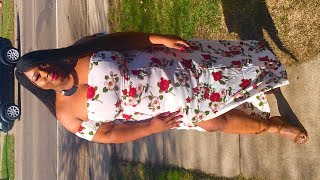 Plus Size Floral Done Right| Zaful Try-On Haul
