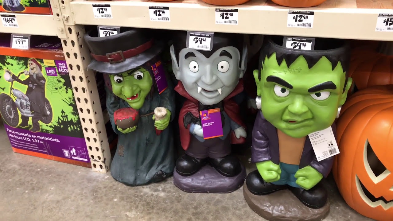Halloween at The Home Depot - In-Store Walk Through, Decorations ...