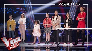 Melendi decides which talents go to the semifinal | Knockouts | The Voice Kids Antena 3 2019