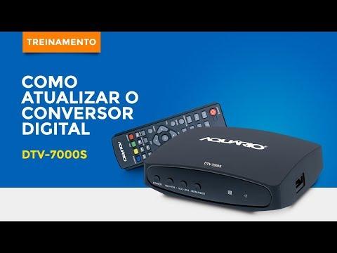 Atualização De Firmware DTV 7000S