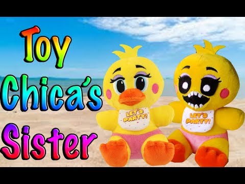 FNAF Plush - Toy Chica's Sister!