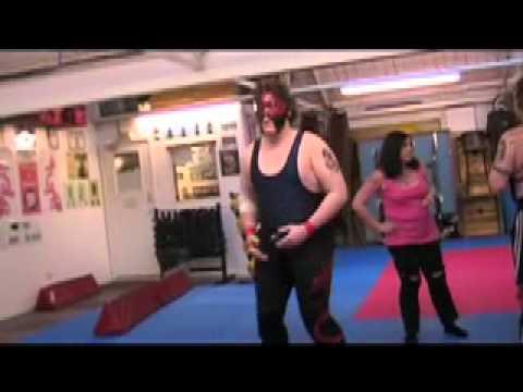 WEIRDEST MEN EVER!!! Meet the 'Rough 'N' Ready Wrestlers'
