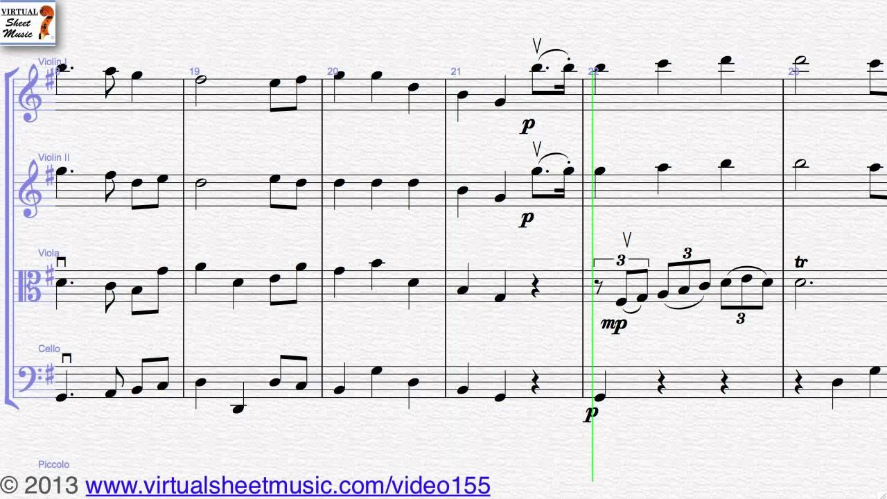 The Star Spangled Banner Sheet Music For String Quartet