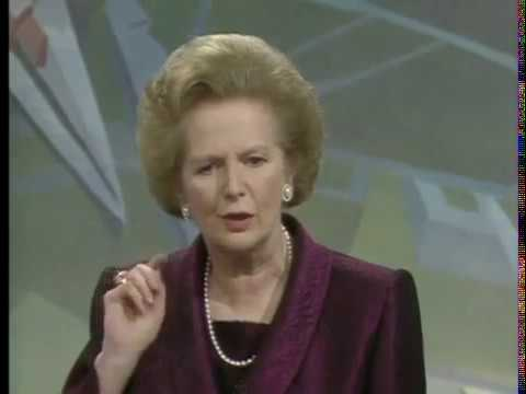MARGARET THATCHER   Interview with Terry Wogan 1990