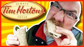 Tim Horton's Wrap Snackers Ranch Vs Chipotle