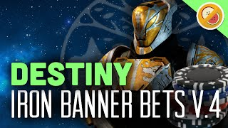 Destiny Iron Banner Bets #4 - The Dream Team (Funny Gaming Moments)