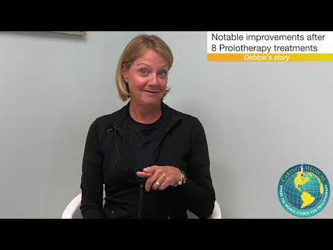 Vision And Balance Problems Due To Upper Cervical Instability-  Debbie's Prolotherapy Story