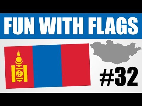 Fun With Flags - Mongolia