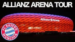 Allianz Arena Tour/Visitando el Estadio del Bayern Munich 🇩🇪