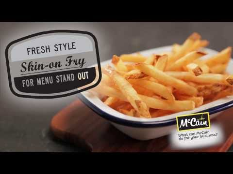 NEW! McCain Signatures Skin-on Fry