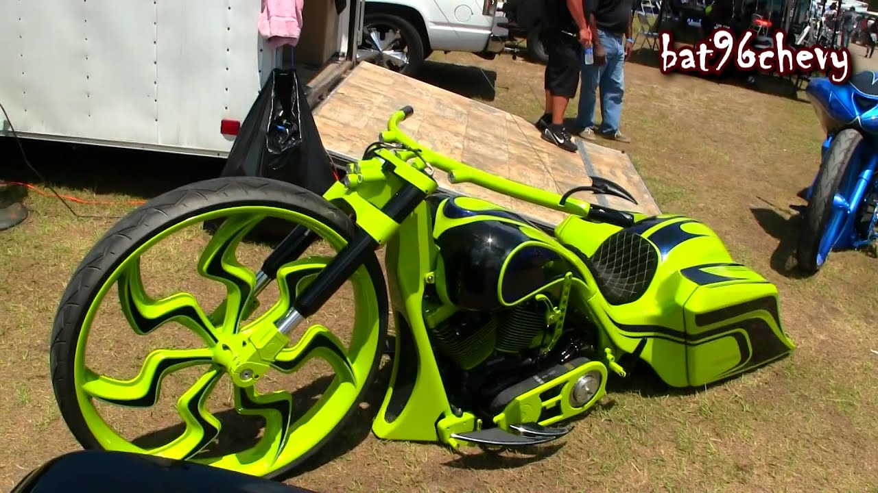 Custom 07 Road King Bagger Motorcycle W 32 Quot Wheel