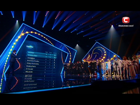 Видео, Результаты зрительского голосования. Евровидение 2017. Третий полуфинал