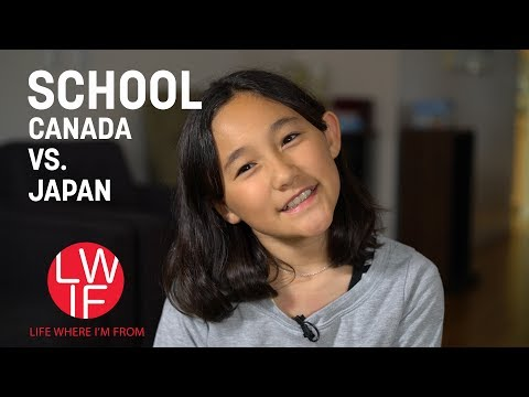 Japanese vs. Canadian School (Elementary)