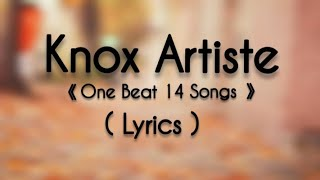 Flashup | Knox Artiste With (Lyrics)🎵| One Beat Mashup | Mi Gente | Sandesh Lyrical