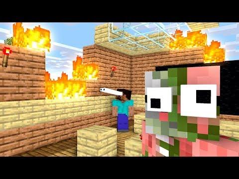 Monster School : FUNNY TRICKS - Minecraft Animation