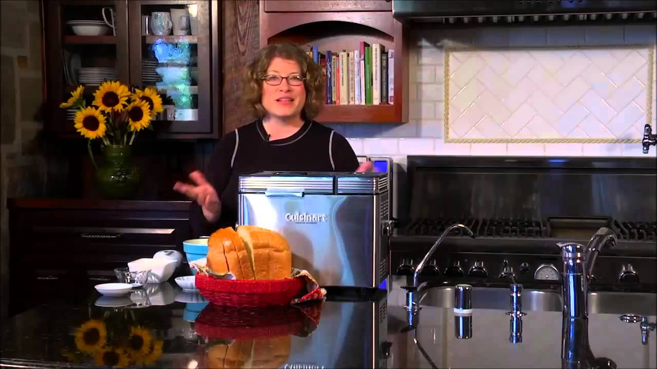 Cuisinart 2 lb Convection Bread Maker - YouTube