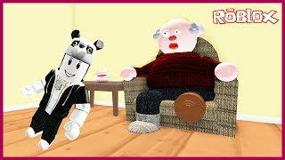 Büyükbabanın Evinden Çıkmaya Çalışıyoruz! Panda İle ROBLOX Kaçış