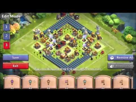 Castle Clash, In Order Not To Loss Your GW ( Guild Wars )base Setups !!!!